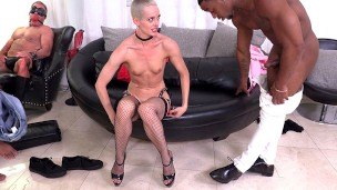 Sidra Sage Tries Double Penetration With BBCs For The Very First Time